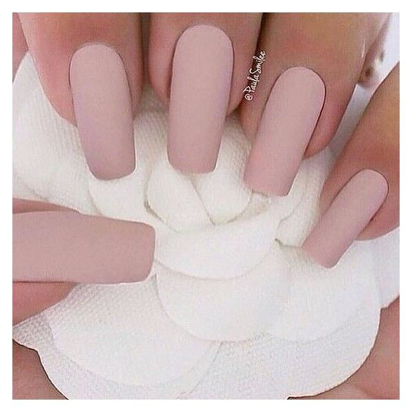 30 Manicure Ideas That Will Make You Mad For Matte ❤ liked on Polyvore featuring beauty products, nail care, nails and makeup