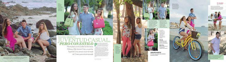 Especial de moda primavea-verano 2017 para la revista Gloss Mazatlán