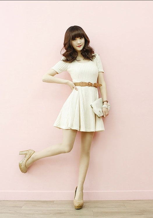 Cute white dress for teens  Dresses  Pinterest  Cute white ...