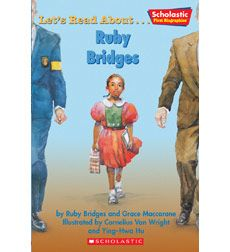 Ruby Bridges made history when she became the first black child to  attend a white school.  Learn how this child's courage changed life in  the United States.