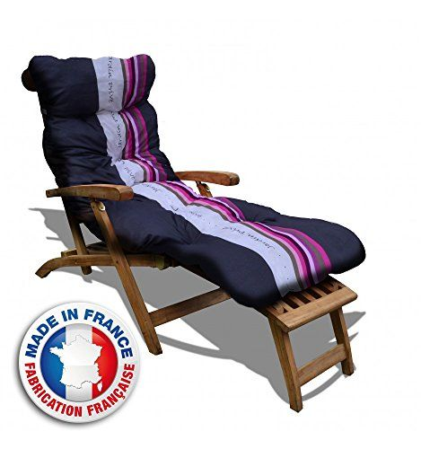 coussin bain de soleil lignes. Black Bedroom Furniture Sets. Home Design Ideas