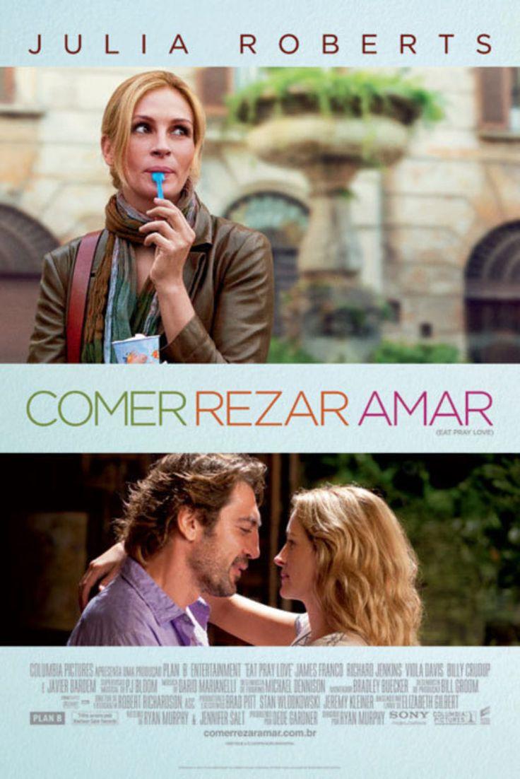 Filmes de Viagem: Comer Rezar Amar, no filme Julia Roberts vive uma viagem de autoconhecimento pela Itália, Índia e Indonésia