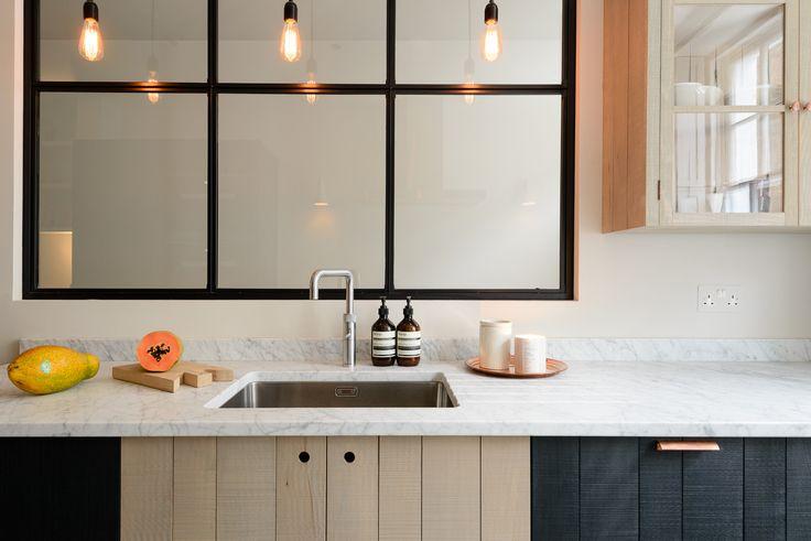 The beautiful Marylebone Kitchen from deVOL's Sebastian Cox range