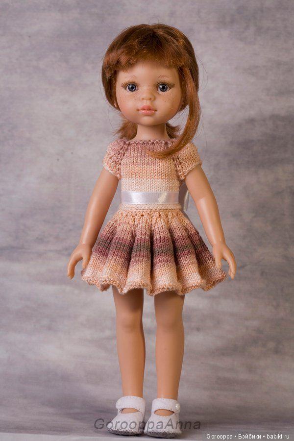 PDF мастер-класс по вязанию спицами платья с пышной юбкой / Обучающие материалы, мастер-классы / Шопик. Продать купить куклу / Бэйбики. Куклы фото. Одежда для кукол