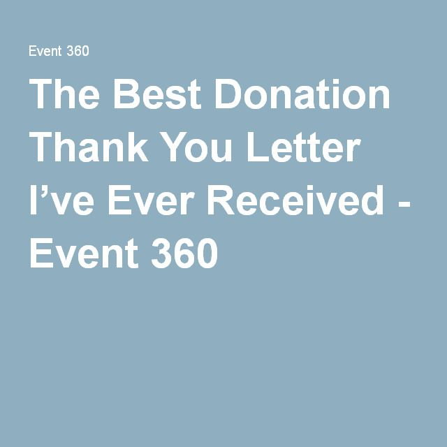 The 25+ best Donation thank you letter ideas on Pinterest Thank - donation thank you letter