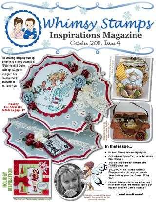Whimsy Stamps Inspirations Magazine Issue 4