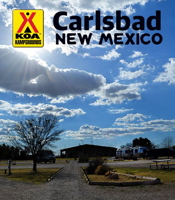 Carlsbad KOA Campground Review {New Mexico}