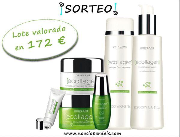 Sorteo lote cosméticos collagen de Oriflame de Olga Camacho. Para participar seguir los pasos aqui: http://noosloperdais.com/2015/02/26/sorteo-lote-cosmeticos-ecollagen-oriflame-de-olga-camacho/