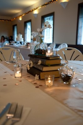 Book Centerpieces Beauty And The Beast Theme