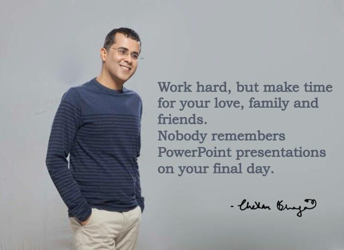 Chetan bhagat quote