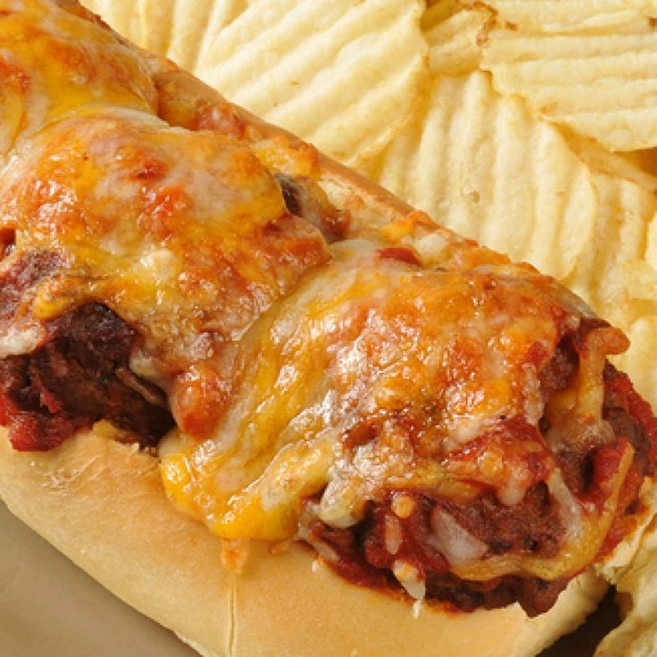 meatball sub sandwich recipe is made with freshly cooked meatballs ...