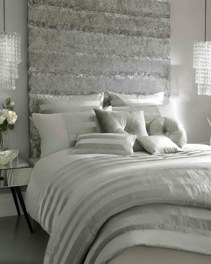 The 25+ best Glamorous bedrooms ideas on Pinterest | Silver ...