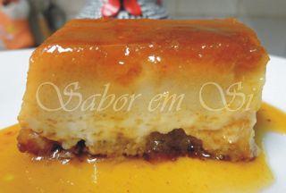 Sabor em Si: Pudim de Pão com Passas ao Rum