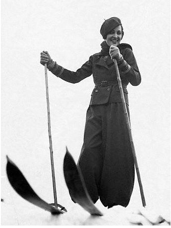 Vintage Ski Style