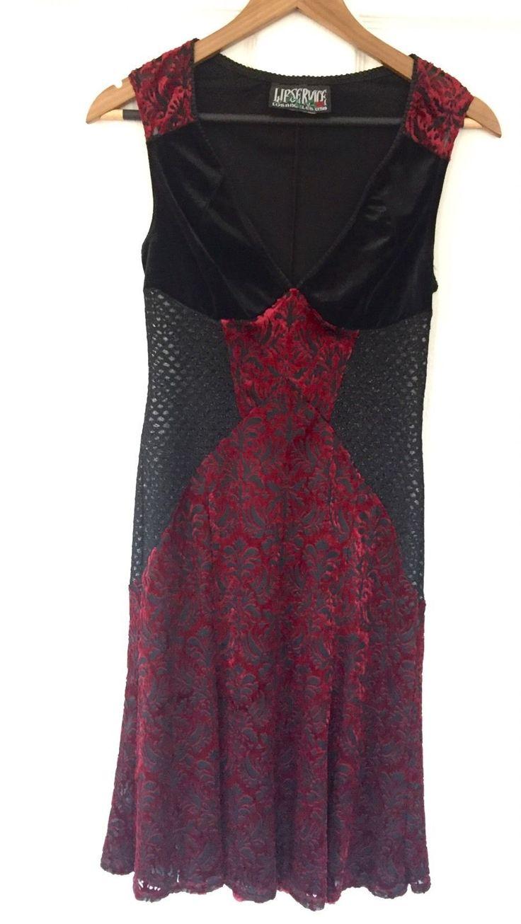 LIP SERVICE Kiss This Fist dress #30-??