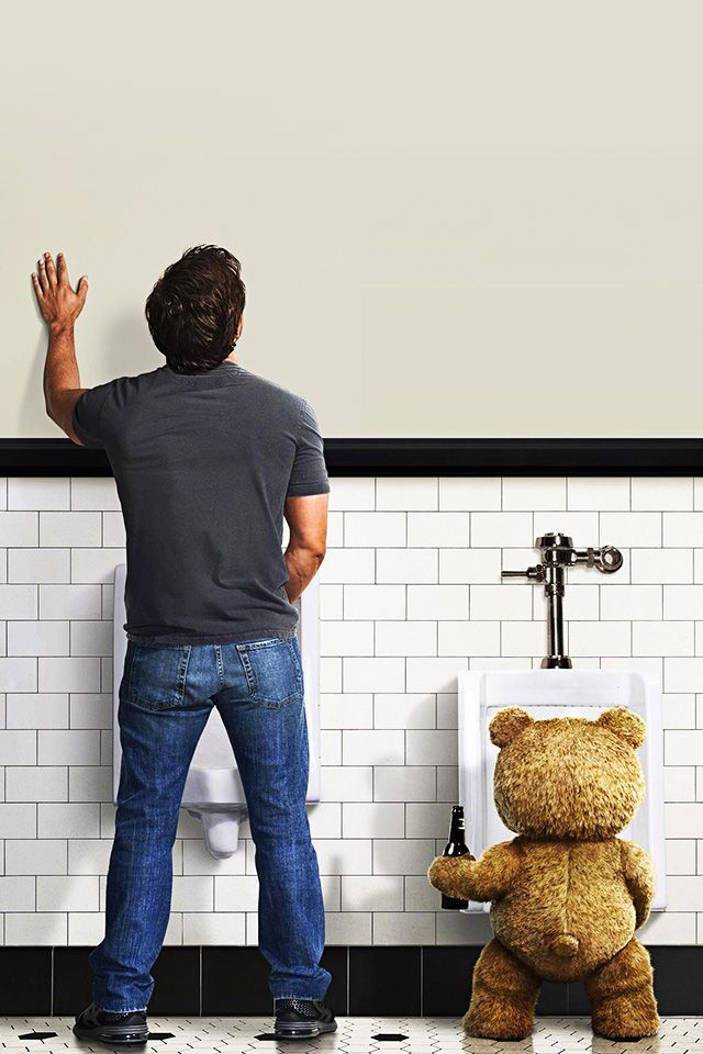 ↑↑TAP AND GET THE FREE APP! Art Creative Movie Cinema Ted Is Coming Bear Beer WC Fun HD iPhone 4 Wallpaper