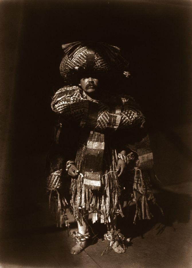 A Kwakiutl shaman, 1914