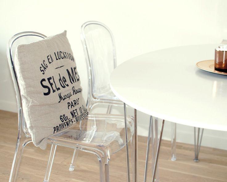 Transparenta Labradoren plaststolar. Plast, stol, polykarbonat, transparent, kök, köksstol, vardagsrum, inredning. http://sweef.se/stolar/57-labradoren-stol-i-polykarbonat.html
