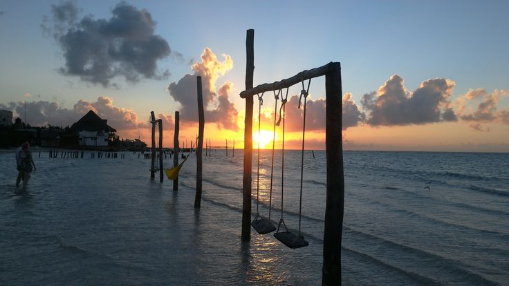Isla de Holbox, Mexico. The island with magical sunsets.