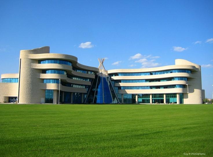 Glass Tipi, First Nations University, Regina, Saskatchewan, Canada
