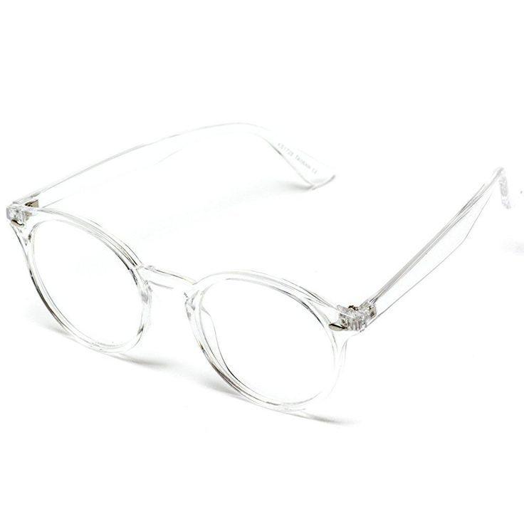 Ainsley Transparent Round Clear Frame Glasses Durchsichtige Optische Glaser Minimalist Fashion Brillen Fur Frauen Durchsichtig Modische Brillen