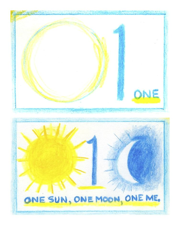 Waldorf ~ 1st grade ~ Math ~ Numbers: One ~ main lesson book