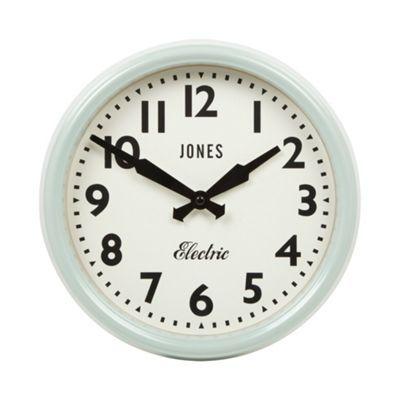 Jones Pale green Apollo wall clock - at Debenhams