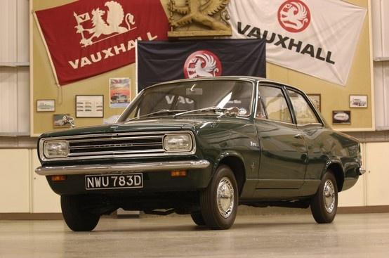 1966: Vauxhall Viva HB SL
