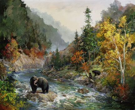 Famous Paintings Of Bears Woodsong General Art