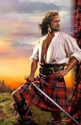 Gerard Butler as Jamie Fraser from Outlander......works for me.  :-)
