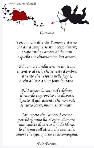 poesia di Elio Pecora