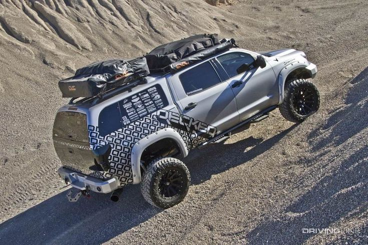 OverlandReady Toyota Tundra DrivingLine in 2020