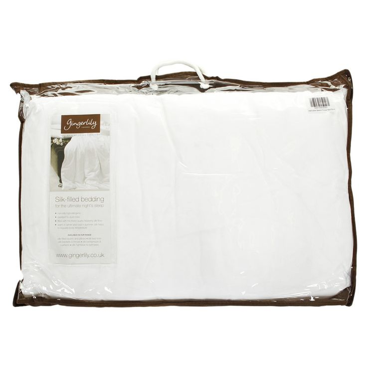 Discover the Gingerlily 100% Silk Pillow 50x75cm at Amara