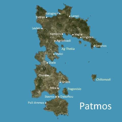 Patmos map