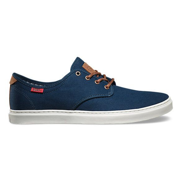 The Worchester Knit Ludlow, a simple and sophisticated low top silhouette with premium upgrades, features canvas and leather uppers, slim low-profile cupsoles with detail stitching, and UltraCush™ sockliners for long lasting comfort. - contemporary mens shoes, mens saddle shoes, mens black dress shoes