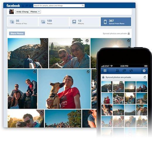 Facebook: Photo Sync es una nueva aplicación que subirá fotos del smartphone automáticamente.