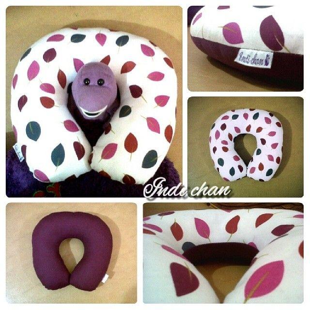 ♡ my #purple #neckpillow #cute #cotton #pillow #craft #bantal #bantalleher #lucu #jahit #kerjinan tangan #sewing#sewingprojects #sewingisfun #hobby #instapic #dailypic #diy #jakarta #indonesia