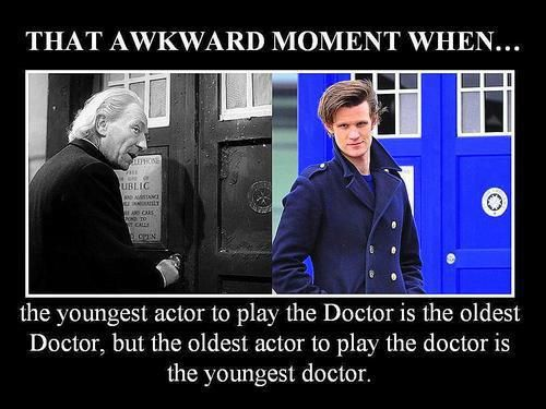 Wibbly Wobbly Timey Wimey stuff...its not awkward XP