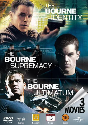 The Bourne Identity / The Bourne Supermacy / The Bourne Ultimatum