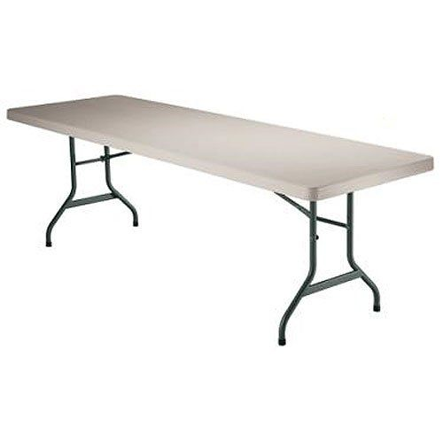 Lifetime 6 Foot Folding Banquet Table Almond Lifetime Tables