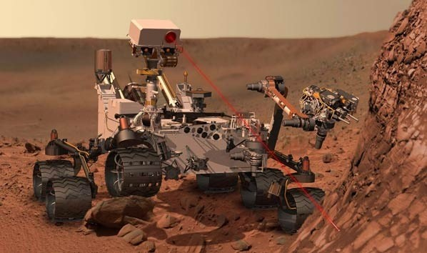 Mars RoverMars Rovers, Spaces, Artists, Planets, Curio Rovers, Curiosity Rovers, On Mars, Rocks, Science
