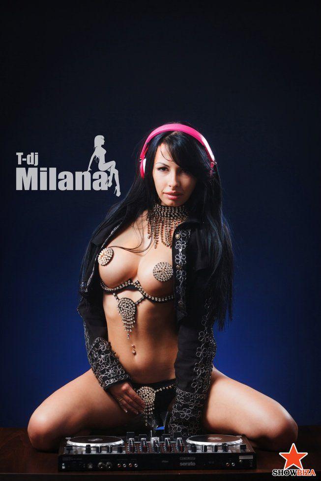 T-Dj MILANA (Юлия Милана) - Топлес диджеи - Showbiza.com