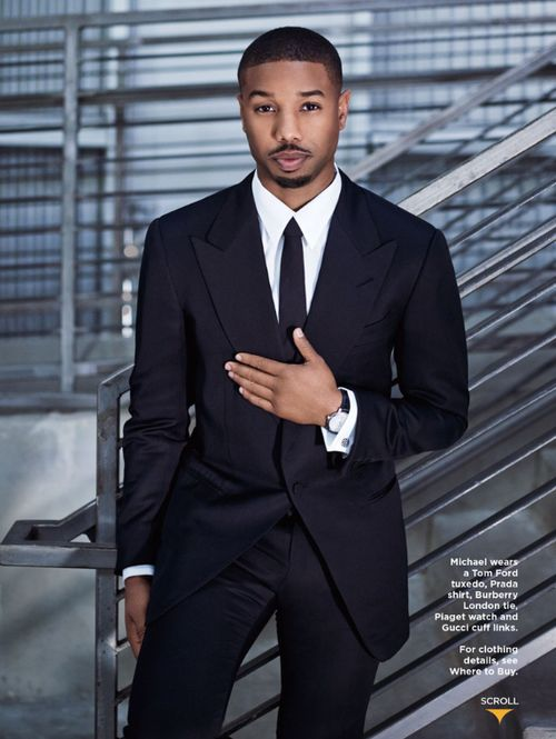 Actor Micheal B. Jordan for the March 2014 issue of Essence Magazine.