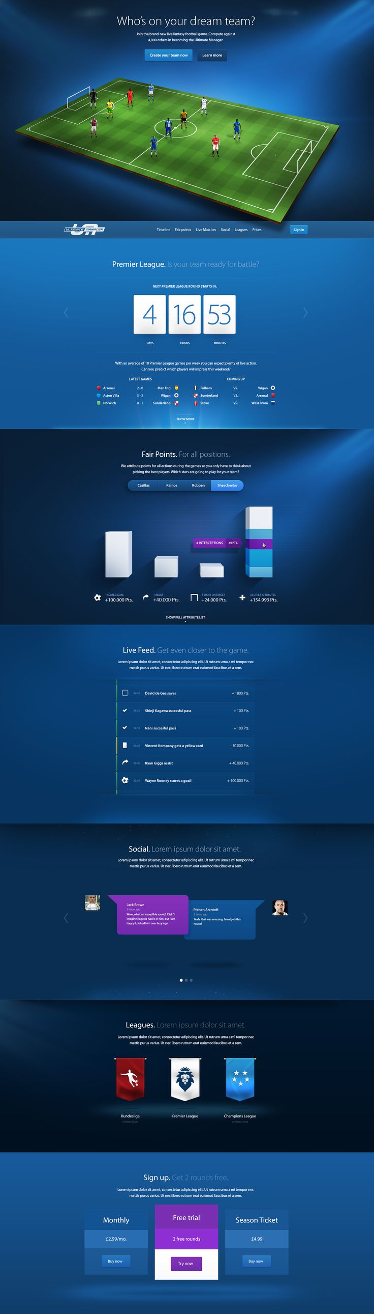 Cool Web Design on the Internet, Ultimate Manager. #webdesign #webdevelopment #website @ http://www.pinterest.com/alfredchong/web-design/