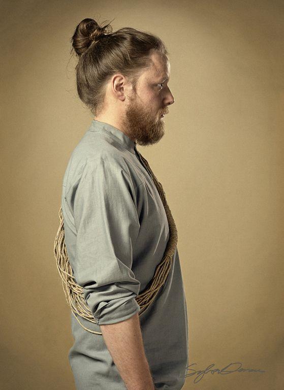 Light cotton shirt, handdyed