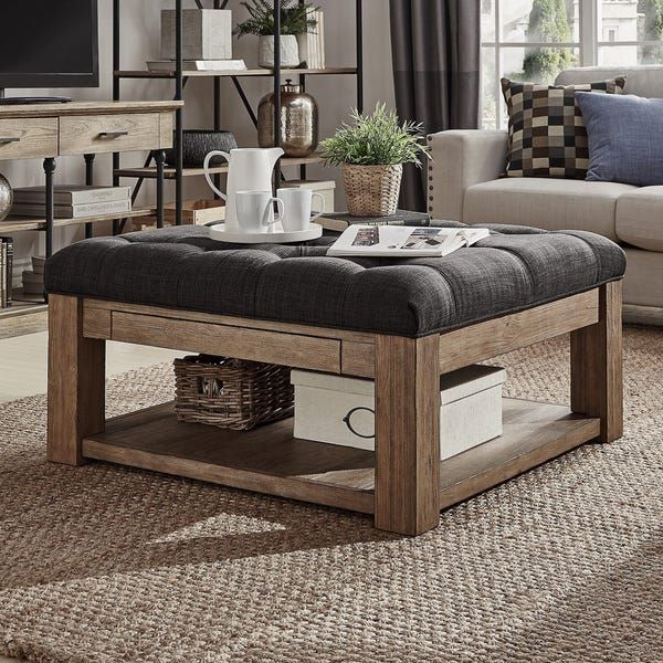 Overstock Com Online Shopping Bedding Furniture Electronics Jewelry Clothing More Square Storage Ottoman Storage Ottoman Coffee Table Ottoman Coffee Table