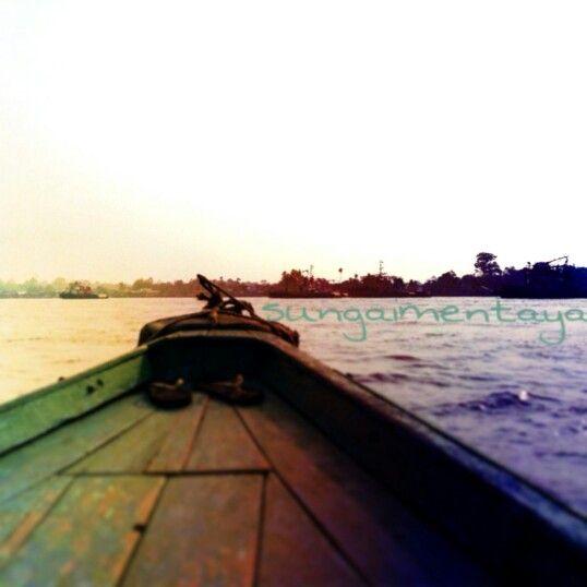 Mentaya's river