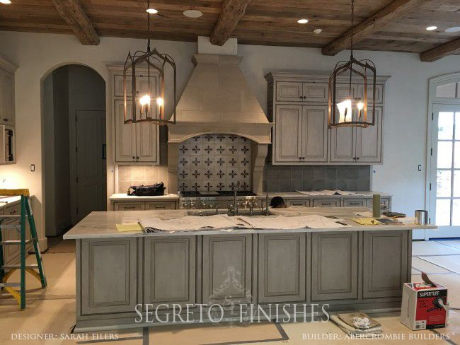 pictures of kitchens with grey cabinets house tours all day segreto secrets kitchens 24696