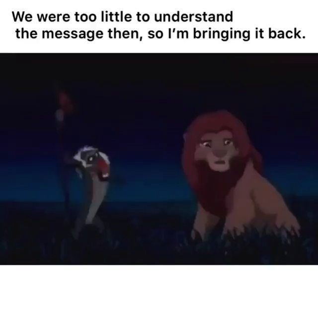 Hakunamatata Remembering Lionking Should Lesson Disney Leave 2019 This All Wewe Should All Leave 2019 Writer Memes Best Funny Pictures Writing Memes