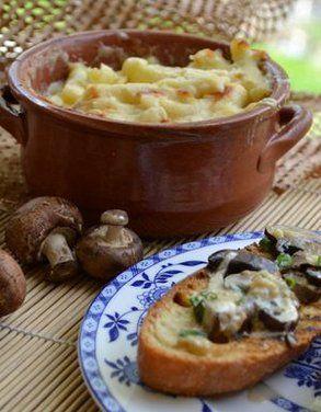 Creamed morel mushrooms on grilled ciabatta recipe for Morel mushroom recipes food network